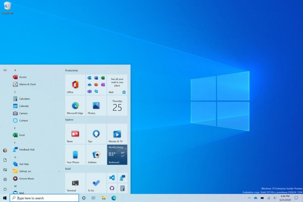 开启「Windows 10」流畅设计开始菜单方法 第1张