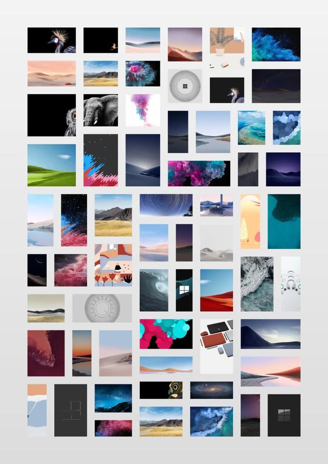 Surface Hub 2S / Laptop Go 内置全套壁纸 第1张