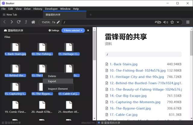 另类浏览器,把你的电脑变成文件共享服务器 第7张